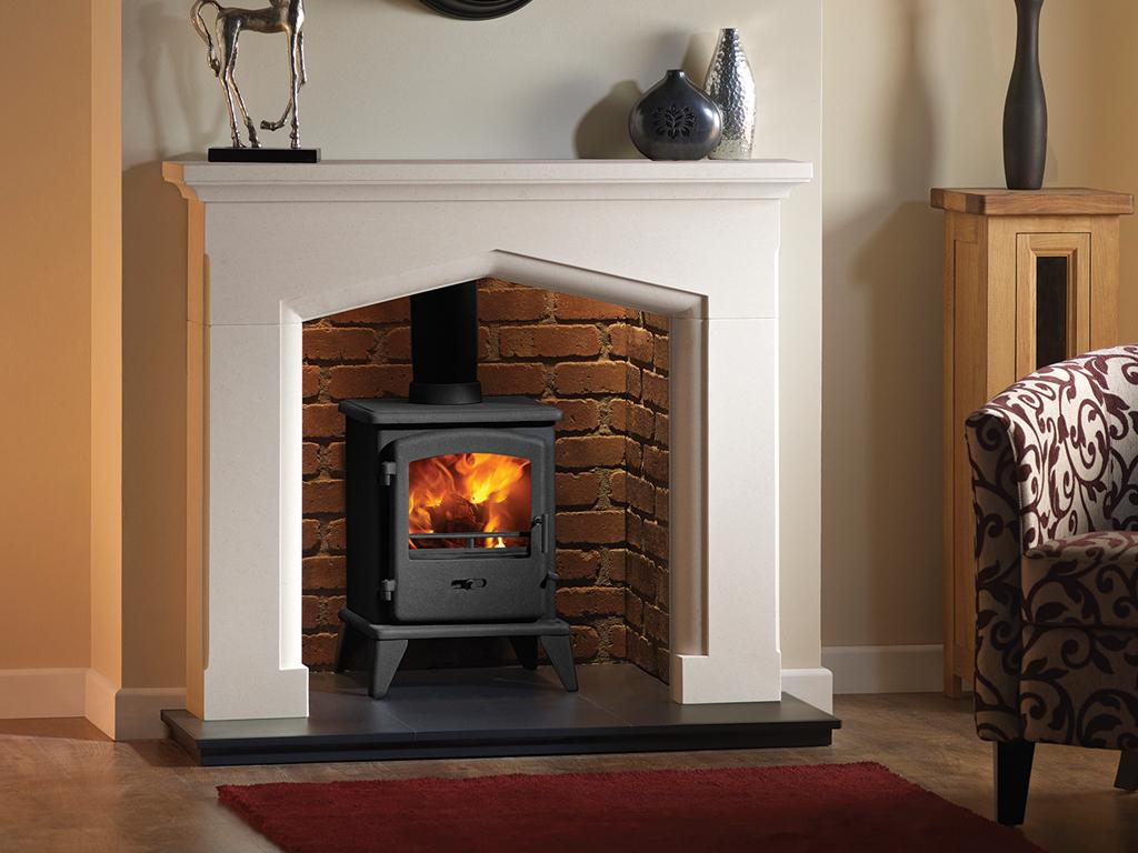 limestone fireplace surround stove capital swinford 48u2033 limestone fireplace surround 48