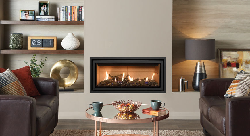 Gazco Studio Edge+ Gas Fire available from £1867 plus vat