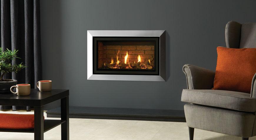 Gazco Studio Slimline Gas Fire available from £1645 plus vat