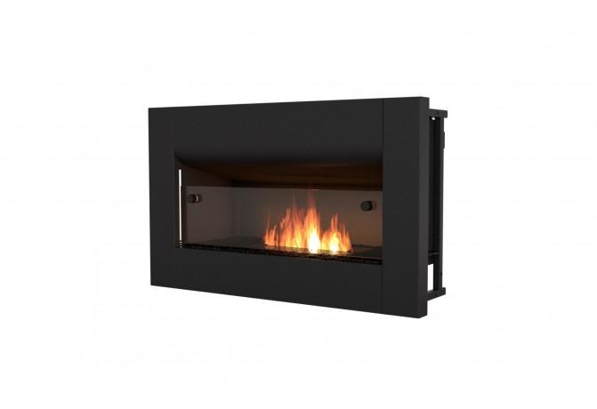 Ecosmart Firebox 650cv Bio Ethanol Curved Fireplace Rigby Fires